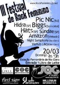 III Festival Rock Feminino (2005)