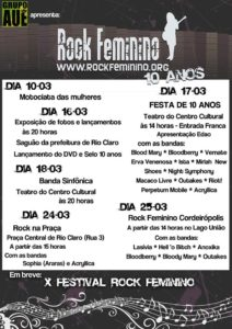 X Festival Rock Feminino (2012)