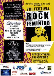 VIII Festival Rock Feminino (2010)