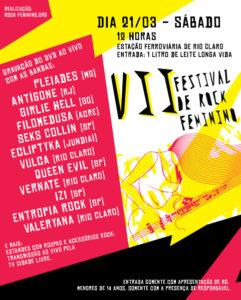 VII Festival Rock Feminino (2009)